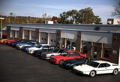 Ponen a la venta una legendaria colección de autos BMW