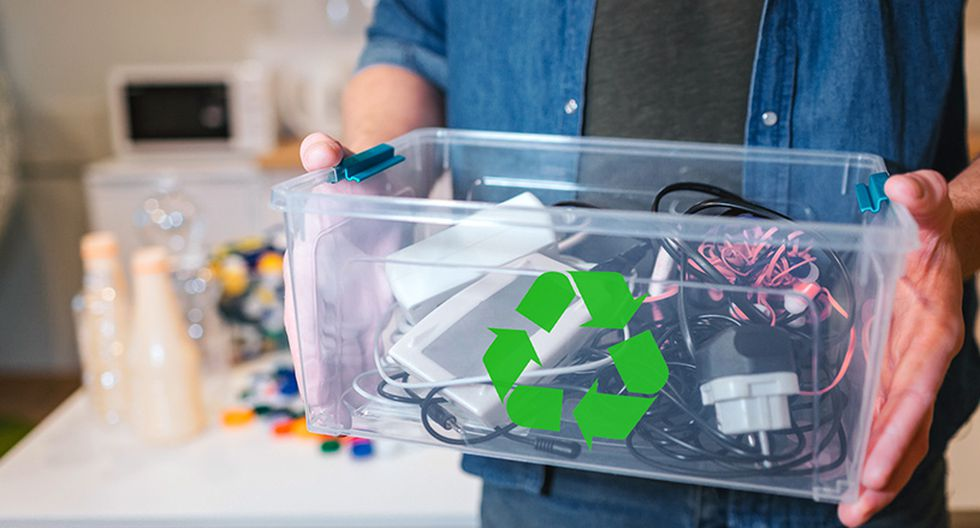 Claro realiza actividades para promover el reciclaje de residuos electrónicos.