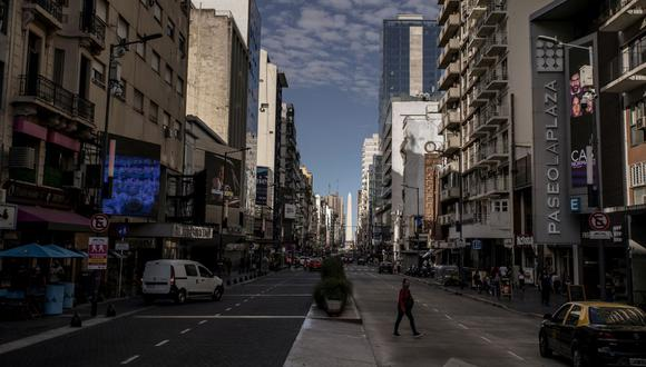 Sepa aquí a cuánto se cotiza el dólar en Argentina este 7 de mayo de 2021. (Foto: Bloomberg)
