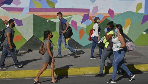 Coronavirus en Venezuela   Últimas noticias   Último minuto: reporte de infectados y muertos hoy, lunes 12 de octubre del 2020   (Foto: Federico PARRA / AFP).