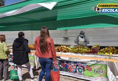 """""""De la chacra a la olla"""": mercados itinerantes buscan paliar la crisis en el Cusco"""
