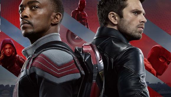"""""""Capitán América y el soldado de invierno"""" podría ser el título de la segunda temporada de esta serie (Foto: Marvel/ Disney Plus)"""