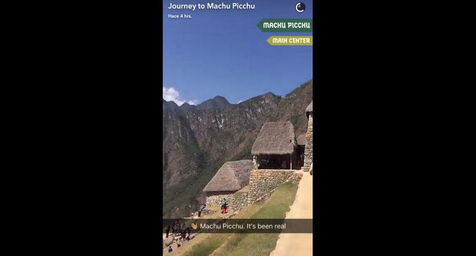 Snapchat promocionó Machu Picchu ante millones de usuarios - 5