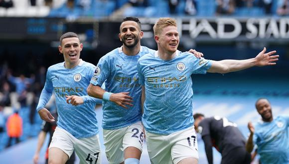Manchester City buscará hacer su propia historia en la Champions League. (Foto: EFE)