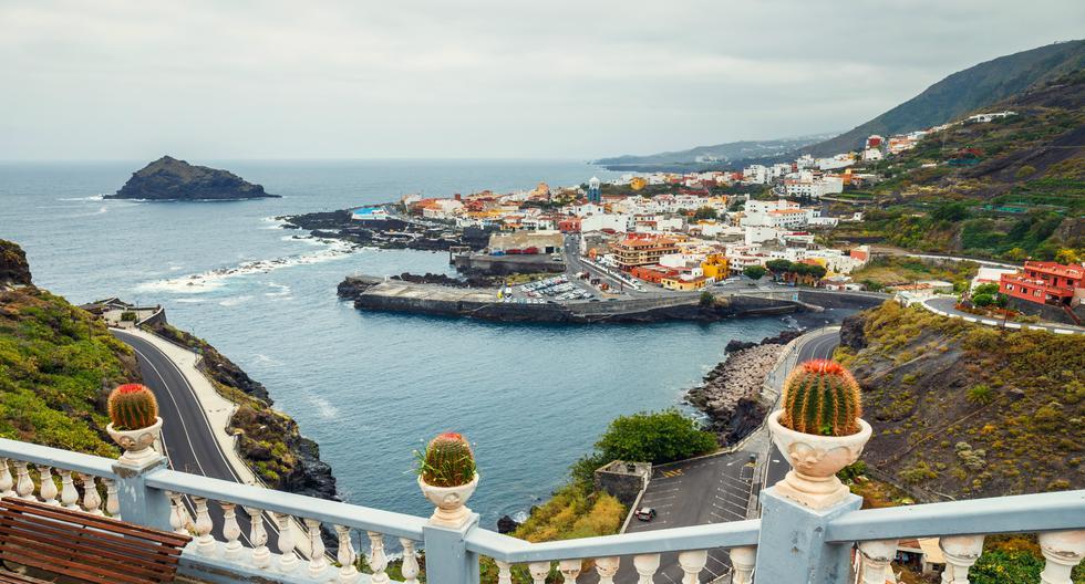 Los miradores y el casco histórico del municipio de Garachico, declarado Bien de Interés Cultural desde 1994, destacan en la isla de Tenerife. (Foto: Shutterstock).
