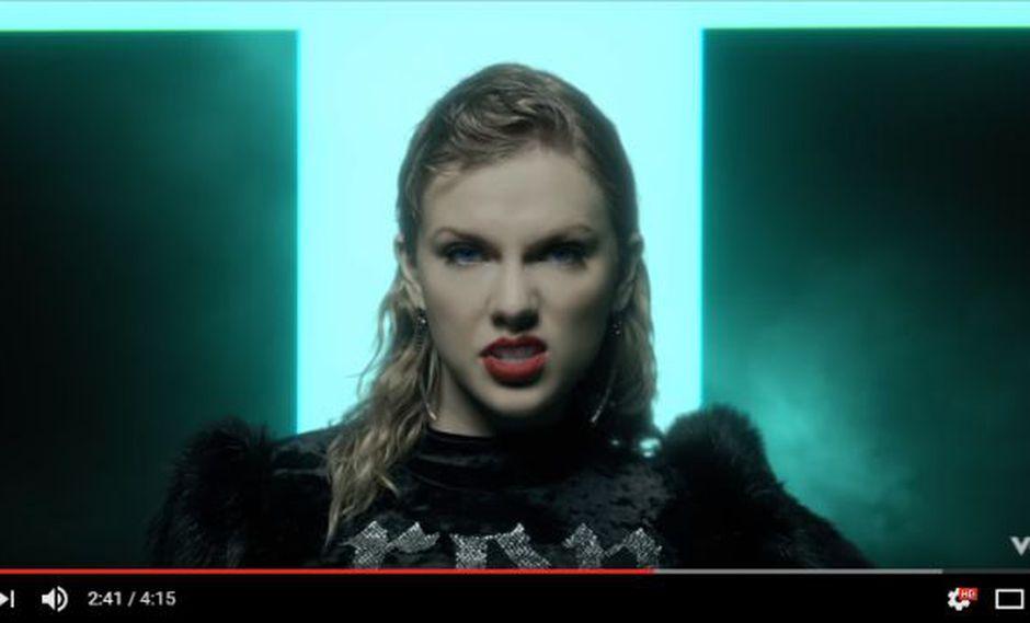 El video del último single de Taylor Swift fue publicado en YouTube y lanzado en el MTV Video Music Awards. (Fotio: captura de YouTube)