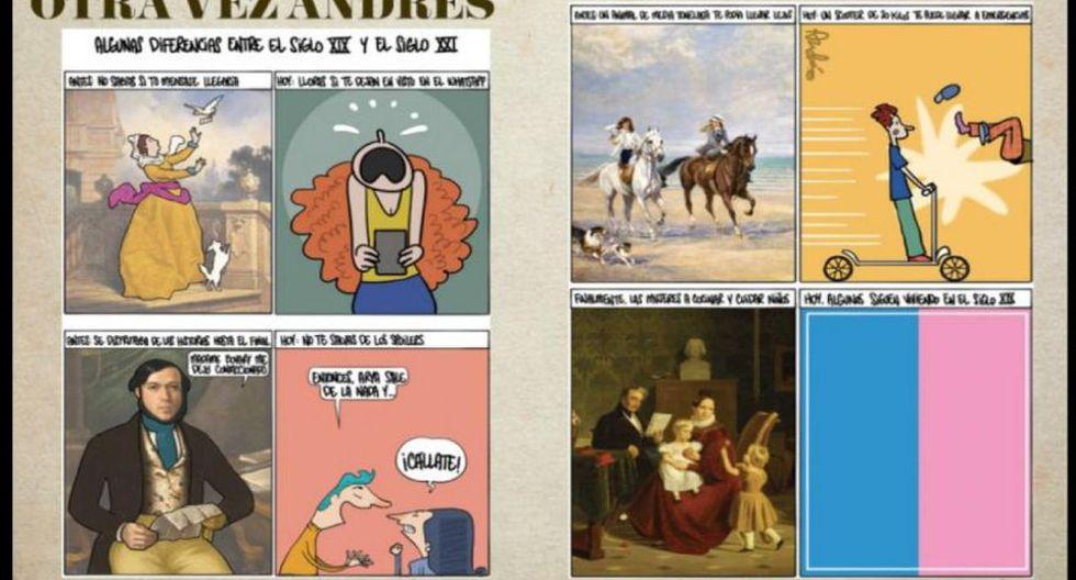 Otra vez Andrés: algunas diferencias entre el siglo XIX y el siglo XXI, según la mirada de Edery.