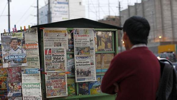 La Sociedad Interamericana de Prensa (SIP) acaba de revelar la situación de libertad de prensa en el último semestre en el Perú y en cada país del continente americano (Foto: GEC)