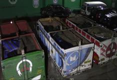 Huancavelica: incautan 15 toneladas de insumos químicos para elaboración de droga