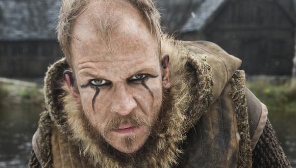 "Gustaf Skarsgård era el encargado de interpretar a Floki en ""Vikings"" (Foto: History)"