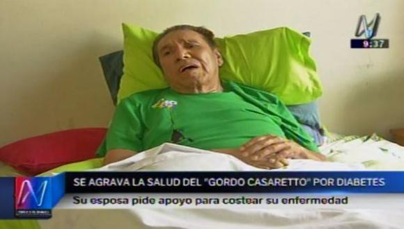 Gordo Casaretto: familia pide ayuda ante problemas de salud