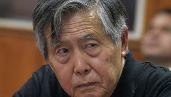 Alberto Fujimori fue grabado en una conversación con un excandidato de Fuerza Popular. (Foto: AFP)