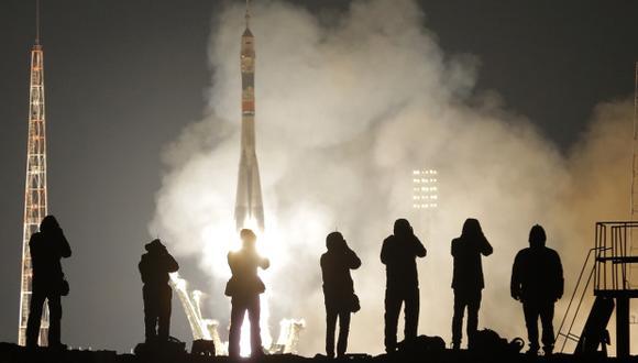 Soyuz coloca en órbita dos satélites