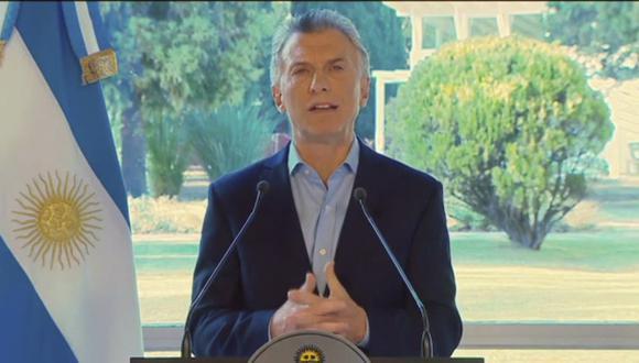Argentina: Mauricio Macri pide disculpas y anuncia medidas económicas tras su derrota en las primarias del domingo. (AFP).