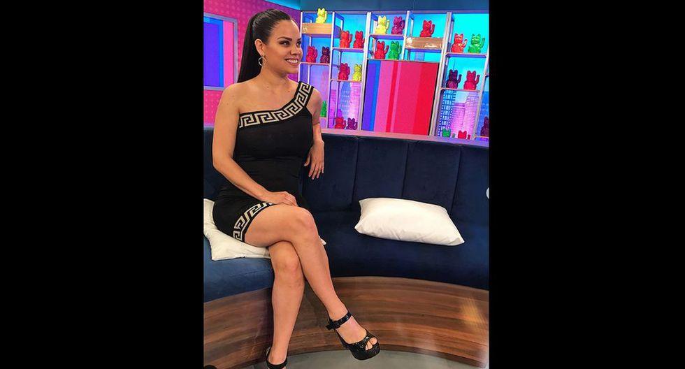 """En Nex TV condujo el programa """"Fama TV"""". (Foto: Istagram)"""
