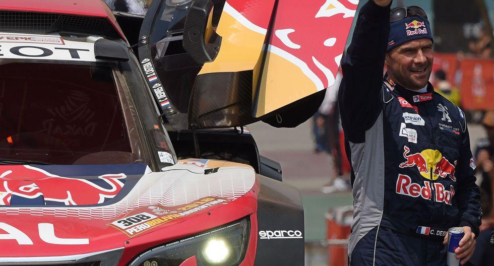 El piloto oficial de Peugeot se llevó la victoria de la segunda jornada del Dakar 2018 en Pisco junto a su navegante David Castera. (Foto: AFP)