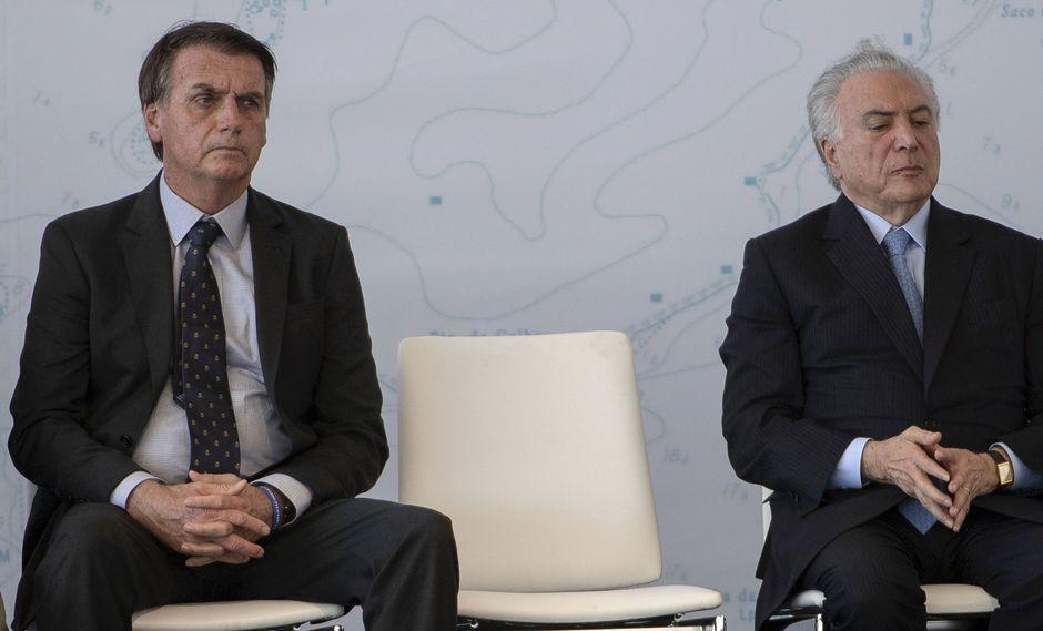 De Rousseff a Bolsonaro, cronología de un mandato convulso. Foto: Archivo de AFP