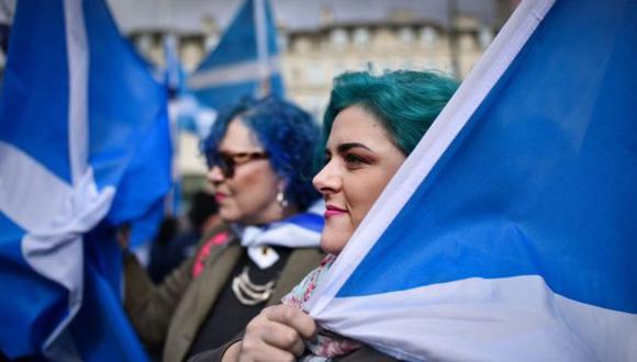 Los que apoyan la independencia han esperado la realización de un segundo referendo desde 2014. (Getty Images).