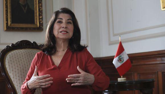 """La Comisión de Ética aprobó iniciar investigación contra la congresista Martha Chávez por """"expresiones racistas"""". (Foto: GEC)"""