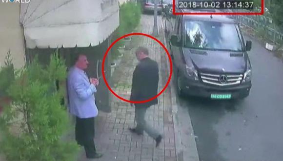 El periodista Jamal Khashoggi, de 59 años, entró en la misión diplomática saudí en Estambul el 2 de octubre para hacer un trámite y nunca salió del edificio. (Foto: EFE)