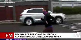 Coronavirus en Perú: ciudadanos salieron a correr con mascarilla tras autorización del Minsa
