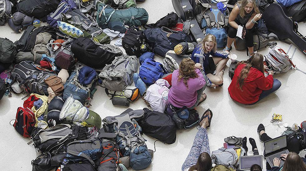 Delta Airlines: Miles de personas varadas por vuelos cancelados - 9