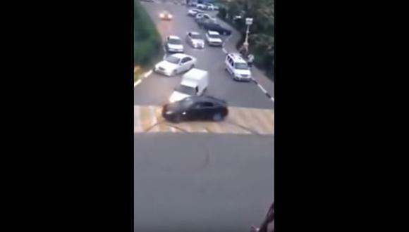 YouTube: Hacía trompos en la calle y todo acabó mal [VIDEO]