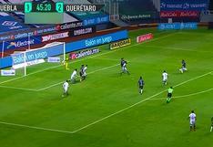 Puebla vs. Querétaro EN VIVO: Omar Islas anotó este golazo para los 'Gallos Blancos' - VIDEO