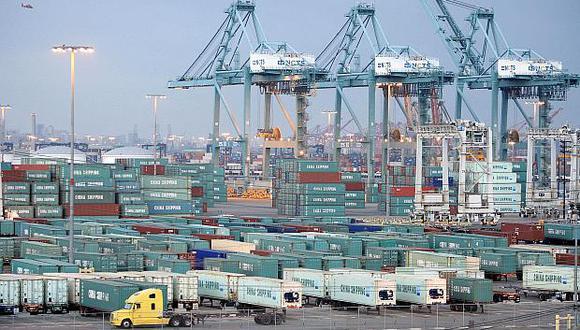 El aumento del déficit comercial de Estados Unidos se da en medio de la disputa comercialque mantiene con China. (Foto: AFP)