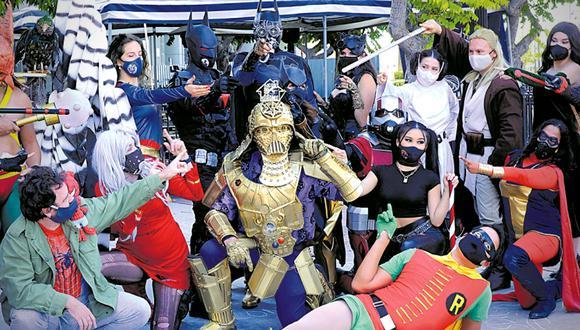 El frikismo no descansa. Aquí un cosplay durante la Comic Con de San Diego realizada en julio de 2020 (Foto: Albert L. Ortega/Getty Images)
