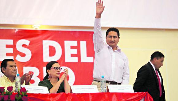 Meses atrás, Mendoza y Cerrón participaron en reuniones con miras a lograr una alianza electoral de organizaciones de izquierda. (Foto: Lino Chipana/ El Comercio)