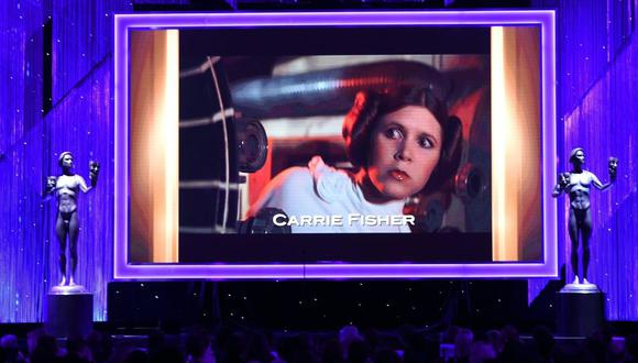Carrie Fisher fue una actriz, escritora y guionista estadounidense de cine y televisión reconocida principalmente por interpretar a Leia Organa en la saga de películas Star Wars. (Foto: AFP)
