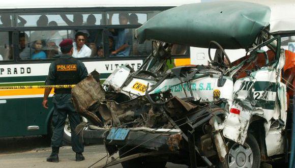 Accidentes de tránsito: solo el 2,8% fue por falla mecánica