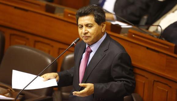 León precisa que su casa allanada en Huanchaco está alquilada