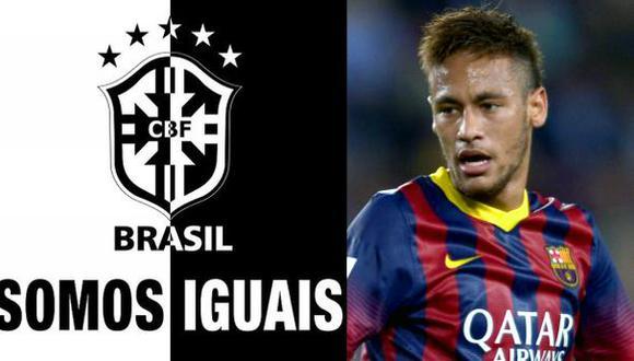 Neymar se une a cruzada antirracismo tras el Garcilaso-Cruzeiro