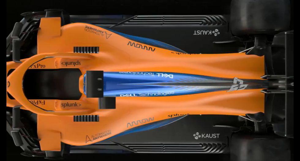 Carlos Sainz y Lando Norris ya conoce el monoplaza que utilizarán para disputar esta temporada de la Fórmula. (Foto: McLaren).