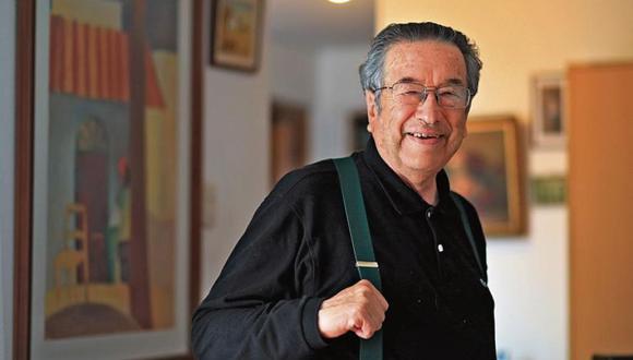 """""""Por esos tiempos, en los colegios de Trujillo se presentaba un hombre que decía llamarse Marco Martos para recitar su poesía laureada en las aulas"""". (Foto: Dante Piaggio)"""