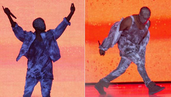 Pifean a Kanye West por dar interminable discurso en pleno show