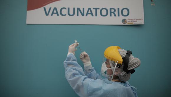 El laboratorio Sinpharm envió en septiembre pasado 3.200 dosis adicionales de sus vacunas de Beijing que fueron destinadas para el personal de los ensayos clínicos y utilizadas también para vacunar en secreto a funcionarios y sus allegados. (Foto referencial: Anthony Niño de Guzmán)