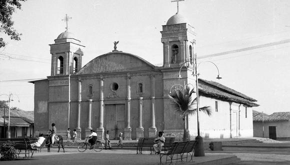 Retrato de la ciudad de Piura décadas atrás. (Foto: archivo histórico de El Comercio)