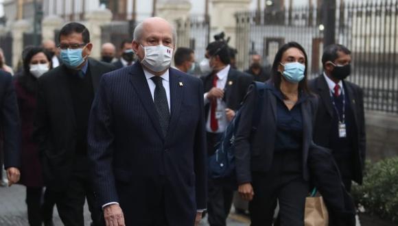 Político, abogado, excongresista y exministro de Defensa, Pedro Cateriano juró como jefe del Gabinete Ministerial a mediados de julio (Foto: GEC).