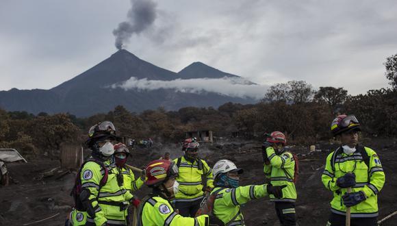 Guatemala: Erupción del Volcán de Fuego dejó 332 desaparecidos. (AP).