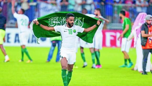 Nawaf Al Abed fue el máximo anotador de Arabia Saudí en la eliminatoria al Mundial, con 5 goles. (Foto: Reuters)