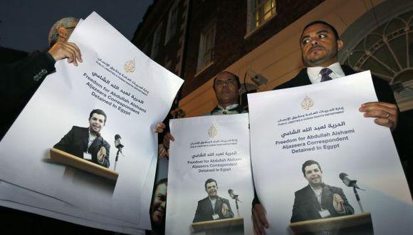 Egipto juzgará a 20 periodistas del canal Al Yazira