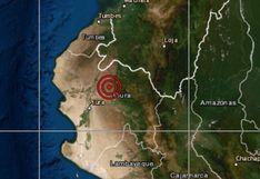 Piura: sismo de magnitud 4,1 se reportó en Chulucanas, señala IGP