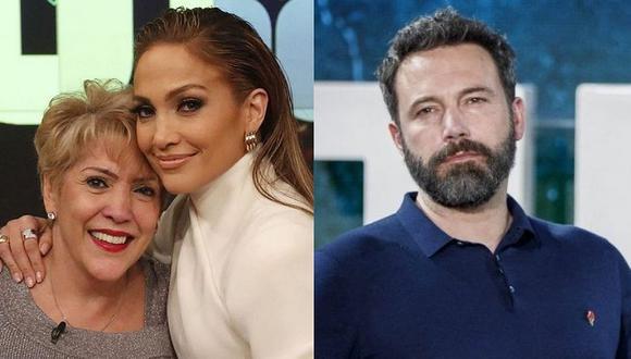 Jennifer Lopez y Ben Affleck están luciendo su amor en California y hasta su madre Guadalupe Rodríguez está feliz con el reencuentro. (Foto: @Jlo Instagram / AFP / Composición)