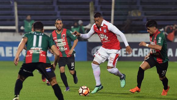 Santa Fe visita al Rampla Juniors este jueves (7:45 p.m. EN VIVO ONLINE vía FOX Sports), por la ida de la segunda fase de la Copa Sudamericana 2018 en Montevideo. (Foto: AFP)