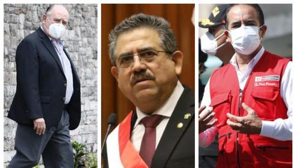 Tres altos funcionarios del Estado en la mira de la fiscalía.