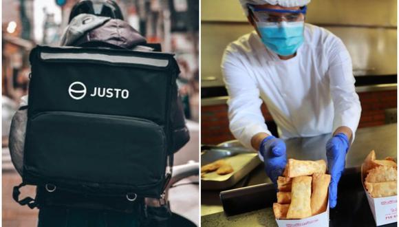 La startup chilena Justo crea la tienda online de los restaurantes y conecta los pedidos a motorizados. (Foto: Justo / GEC)