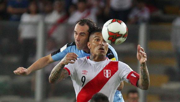 El delantero peruano Paolo Guerrero ha sido convocado por Gareca para la fecha triple de setiembre. (Foto: EFE / Germán Falcón)